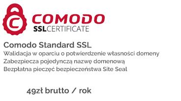 Certyfikat Comodo w ofercie GaleoGrupa